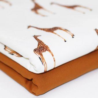 Jersey Giraffenherde Giraffe Afrika Safari Animal Aquarell Digitaldruck
