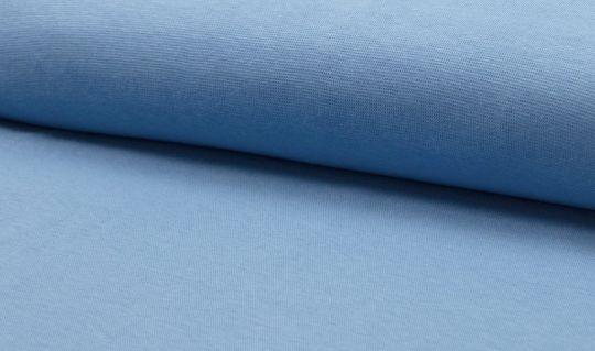 Bündchen Uni Smokey Blue Blau